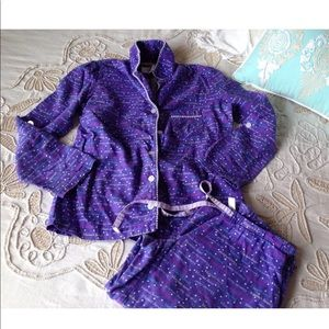 Victoria's Secret purple pajama sleepwear set XS